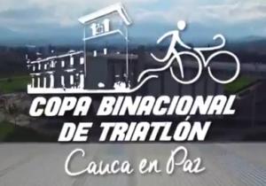 Copa Binacional de Triatlón Cauca en Paz